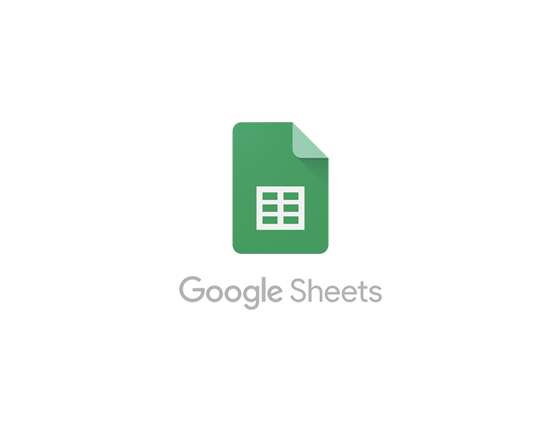 Image of Google sheets